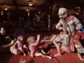 傳統面具舞舞者