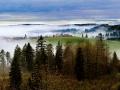 聖十字(St. Croix)城的山間雲霧繚繞