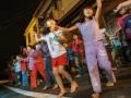 志工帶領練舞