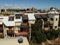 屋頂裝設太陽能板