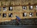 肖像妝點石牆