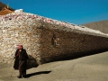 結古鎮的嘉那嘛呢石堆