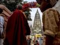 菩提迦耶的摩訶菩提大塔