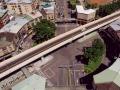 環河南路、和平西路交叉的圓環陸橋