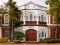 台南長榮中學的教堂暨音樂館