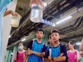學童參觀汙水處理廠